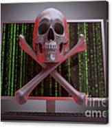 Online Security Canvas Print