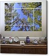 5-panel - A Forest Sky Canvas Print