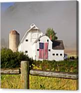 Park City Barn Canvas Print