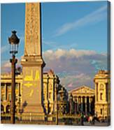 Place De La Concorde Canvas Print