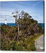 Point  Hicks Lighthouse Canvas Print