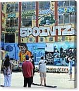 5 Pointz Graffiti Art 3 Canvas Print
