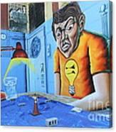 5 Pointz Graffiti Art 5 Canvas Print