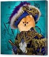 Pomeranian Art Canvas Print Canvas Print