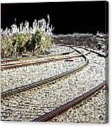 Rails Of Hope Canvas Print