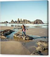 Seal Rock Beach Canvas Print