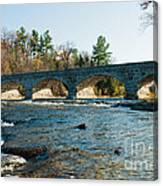 5-span Bridge Canvas Print