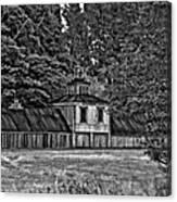 5 Star Barn Bw Canvas Print