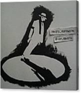 Stencil - Mj Canvas Print