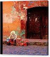 Streets Of Oaxaca Canvas Print