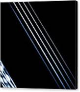 5 Strings Of Light Canvas Print