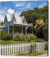 Sullivan's Island Tin Roof Story Book Cottage Canvas Print