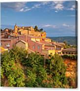 Sunrise Over Roussillon Canvas Print