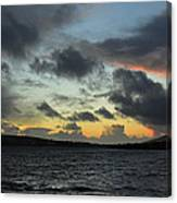 Sunset In Dingle Canvas Print