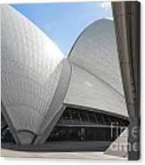 Sydney Opera House Detail In Australia  Canvas Print