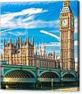 The Big Ben - London Canvas Print