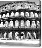 The Majestic Coliseum - Rome Canvas Print