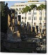 The Sacred Area Of Largo Argentina Canvas Print