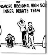 The Langmore Regional High School Inner Debate Canvas Print