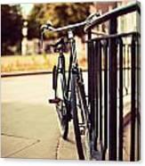 Vintage Bike Canvas Print