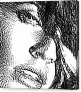 Woman Sketch Canvas Print