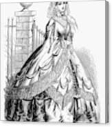 Women's Fashion, 1860 Canvas Print