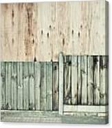 Wooden Background Canvas Print