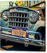 50 Willys Canvas Print