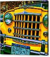 51 Jeepster Canvas Print