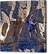 Rock Climb Canvas Print