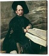 Velazquez, Diego Rodr�guez De Silva Canvas Print