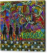 525 600 Minutes - Color Canvas Print
