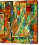 53 Doors Canvas Print