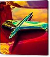 53 Kaiser Hood Ornament Canvas Print