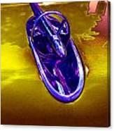 54buick Hood Ornament Canvas Print