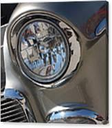 55 Bel Air Headlight-8200 Canvas Print
