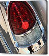 55 Bel Air Tail Light-8184 Canvas Print