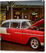 55 Chevy Belair Canvas Print