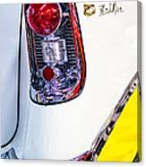 56 Chevy Bel-air Tail Light Canvas Print