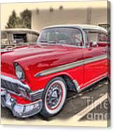 56 Classic Chevy Canvas Print