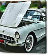 '56 Corvette Canvas Print