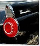 56 Ford Thunderbird Canvas Print