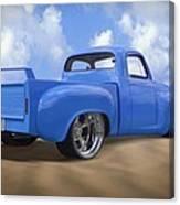 56 Studebaker Truck Canvas Print