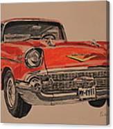 57' Bel-aire Canvas Print