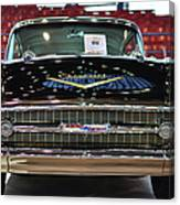 '57 Chevy Bel Air Show Car Canvas Print