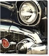 57 Chevy Headlight Canvas Print