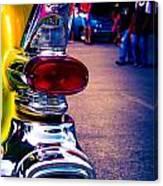 57 Pontiac Tail Light Canvas Print