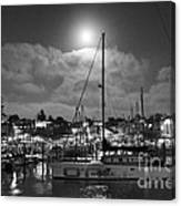 570 Bw The Sea Odessy                                      In Monochome 2 Canvas Print