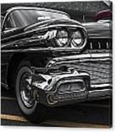 58oldsmobile Super 88 Headlights Canvas Print