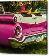 59 Ranchero With Surfboards Canvas Print